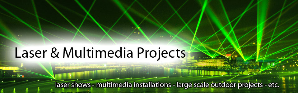 Laserworld multimedia projects
