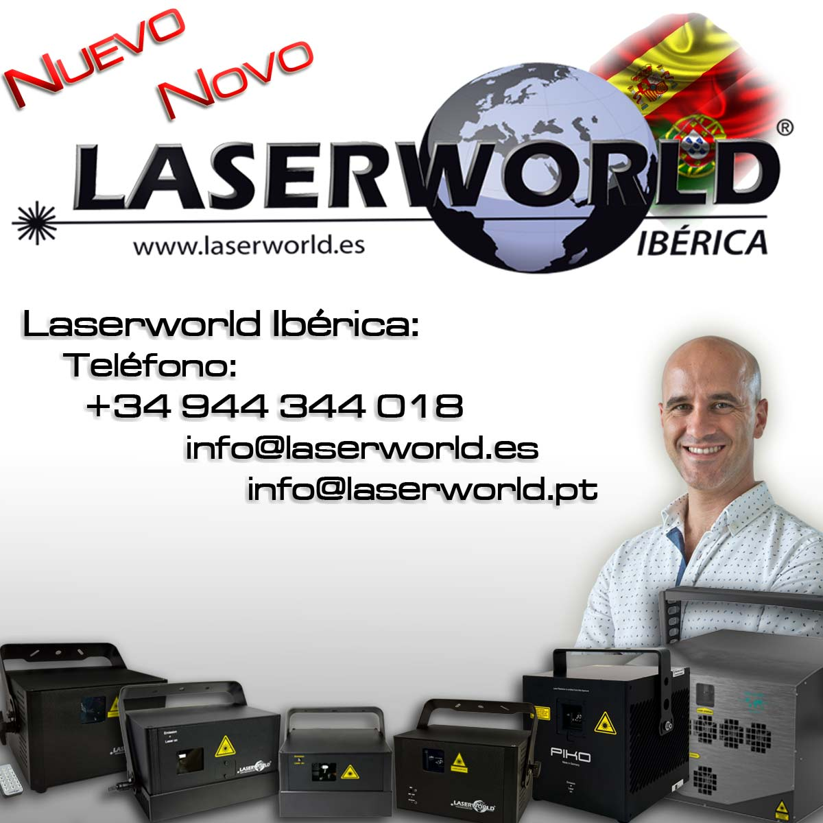Introducing Laserworld Iberica projector