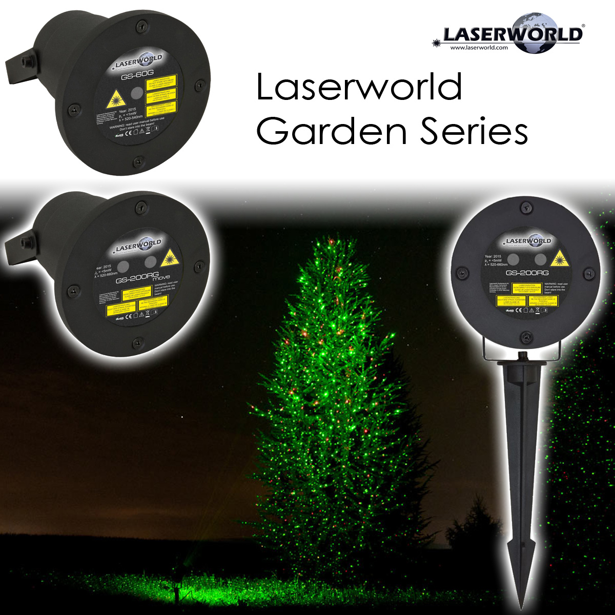 Laserworld Garden Series