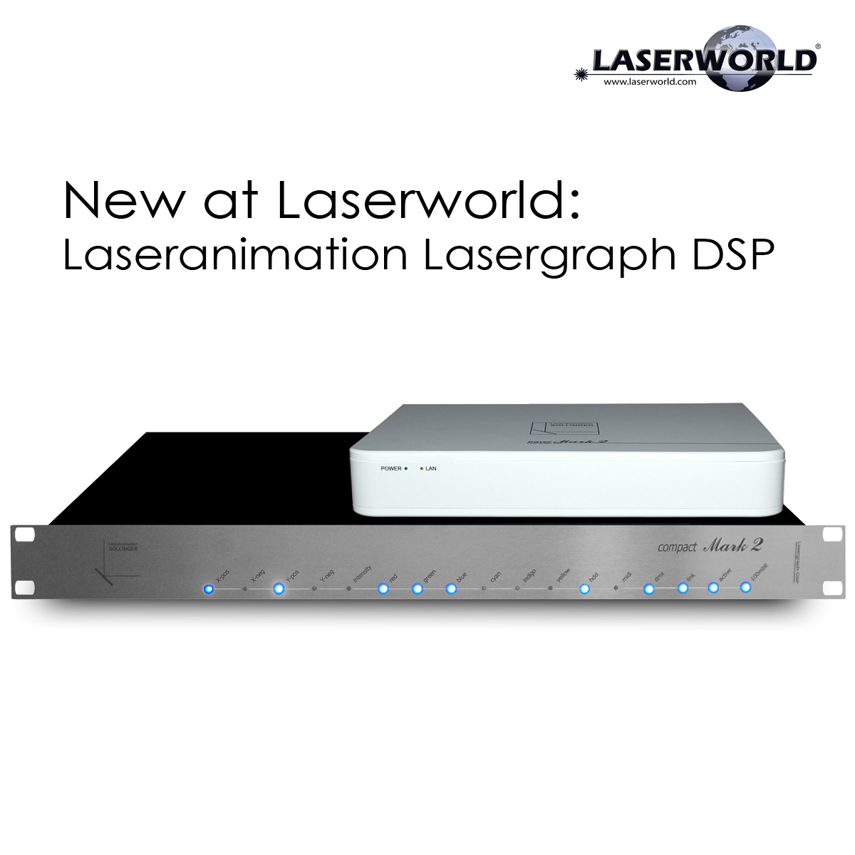New at Laserworld Lasergraph DSP