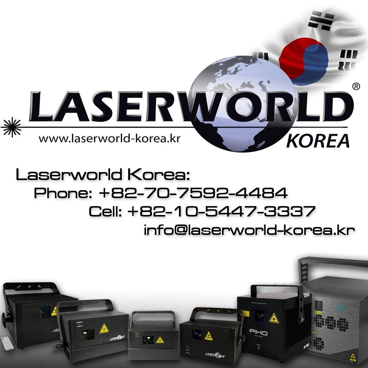 Laserworld Korea Starts