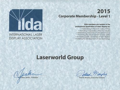 ILDA Mitgliedschaftszertifikat 2015 web
