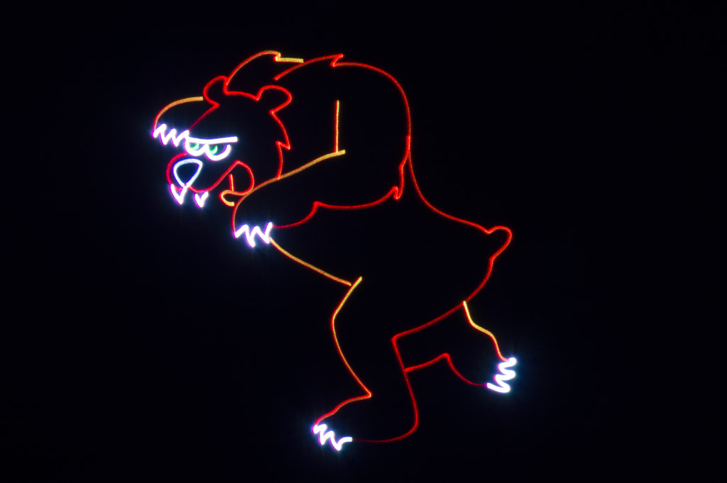 Laser Animation