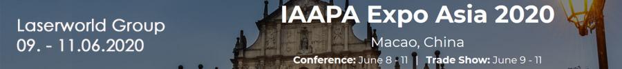 Laserworld auf der IAAPA Expo Asia 2020 in Macau