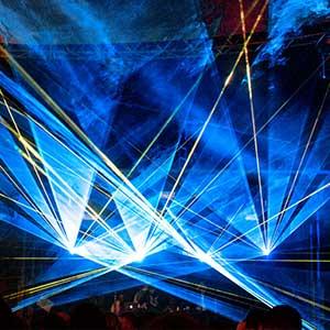 Lasersicherheit für Showlaser