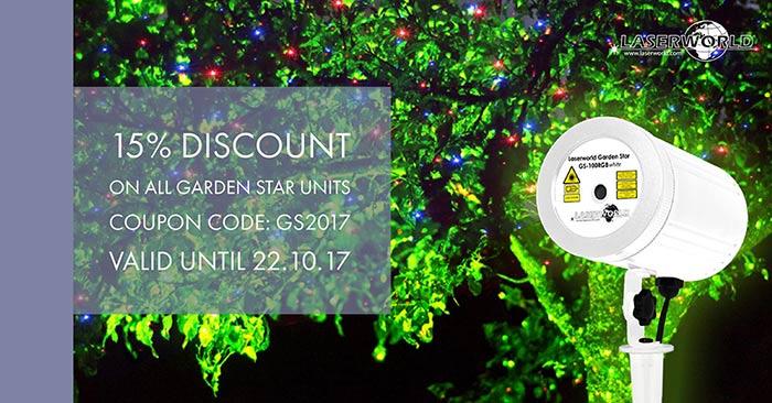Laserworld Garden Star Special2