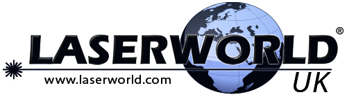 Logo Laserworld UK  frei mese web