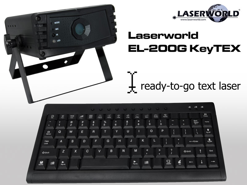 Laserworld - EL-200G KeyTEX