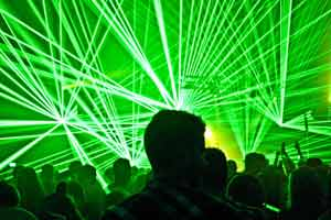 Project X 4.0 - Town Hall Lichtenfels, Germany laser show