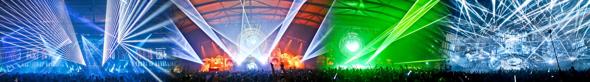 Laser show production