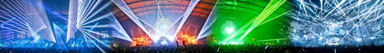 Laser show production
