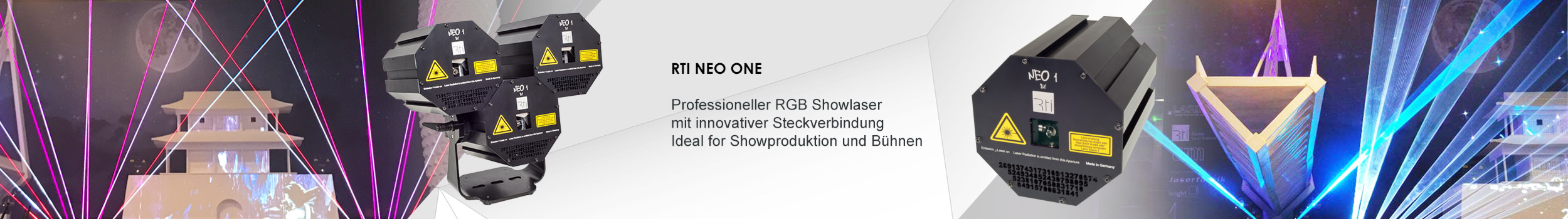 RTI NEO ONE Showlaser