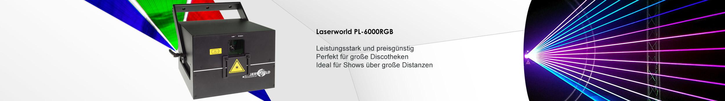 Laserworld PL-6000RGB Showlaser