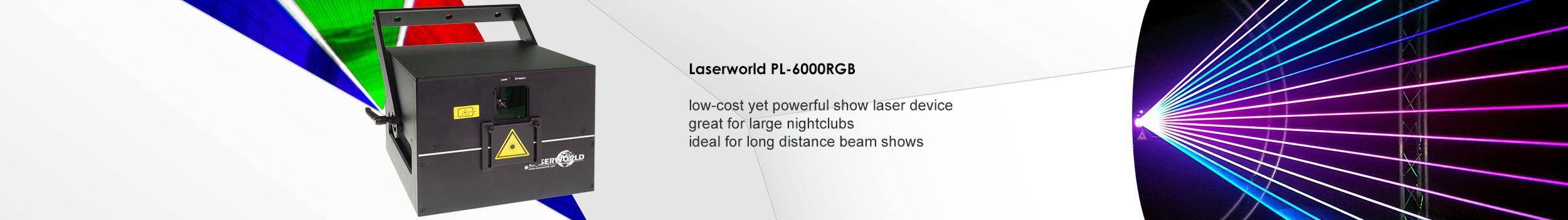 Laserworld PL-6000RGB show laser