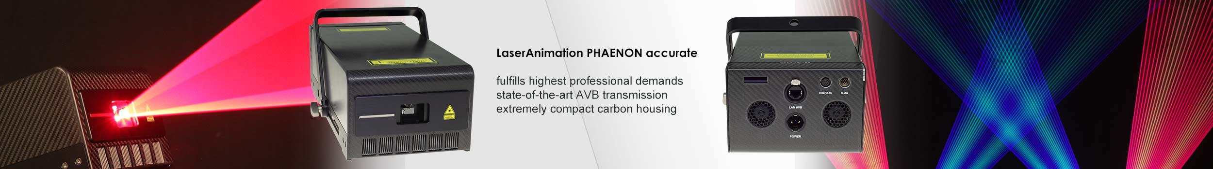 Laseranimation Phaenon accurate