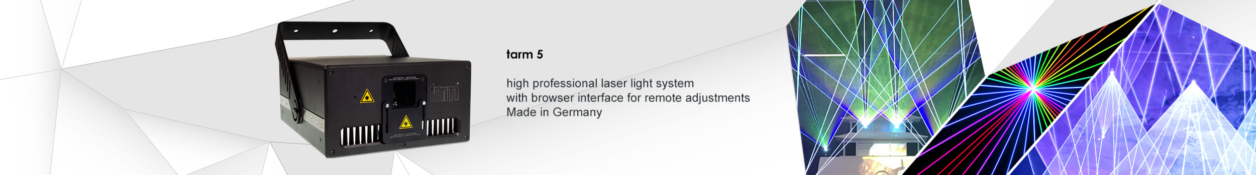 tarm 5 show laser