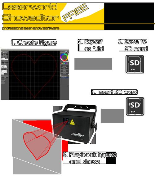 infograph showeditor free laser software