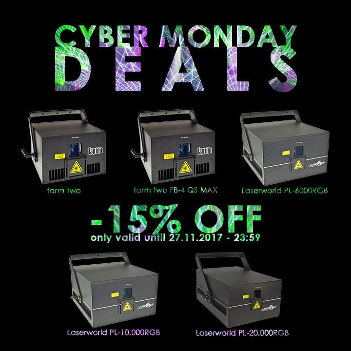 Laserworld Cyber Monday Deals