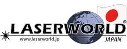 logo international laserworld japan