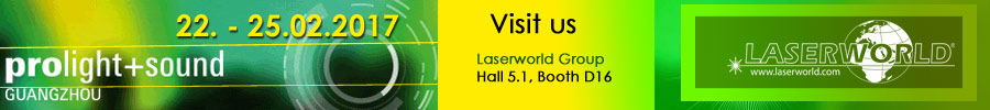 Laserworld at ProlightSound Guangzhou 2017
