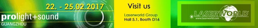 Laserworld at ProlightSound Guangzhou 2017