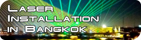Laserworld Laser installation in Bangkok 280x80