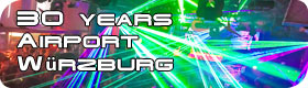 News Laserworld at Airport Wuerzburg EN 280x80