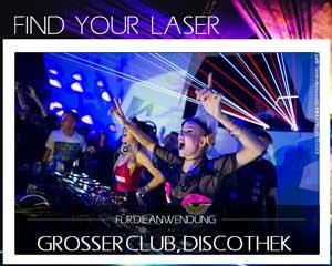 Finde Deinen Laser Club Disco Discothek