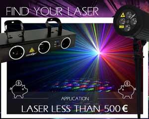 Trouvez votre Laser - Lasers à moins de 500 €