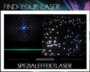 spezialeffekt laser