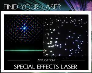 Find your laser special effects laser