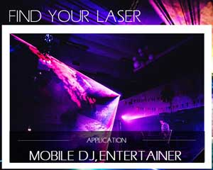 Find your laser mobile dj entertainer
