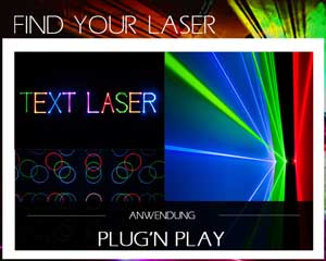 Finde Deinen Laser plug and play laser
