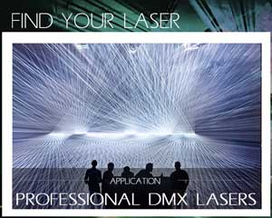 Find your laser professional dmx laser