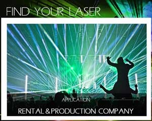 Find your laser rental and production