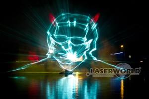Wasser-Effekte - 3D-ähnliche Lasershow