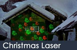 christmas laser