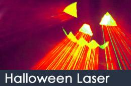 halloween laser