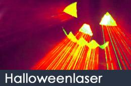 halloween laser de