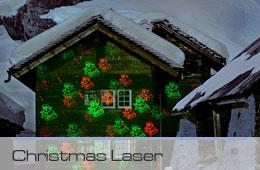 christmas laser web