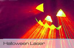 halloween laser web