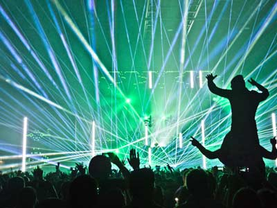 Laser Show 187 Multi Media Show Service ǁ World Wide
