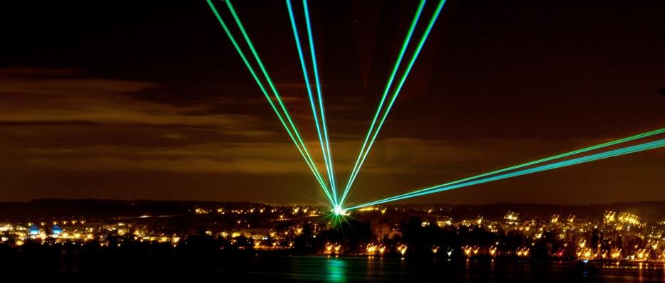Outdoor und open air lasershow - Outdoor laser light show ...