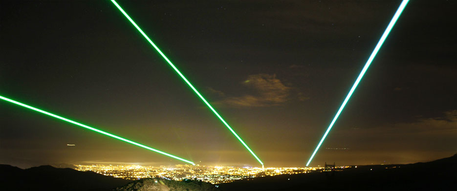 Outdoor and open air laser show - Outdoor laser light show ...