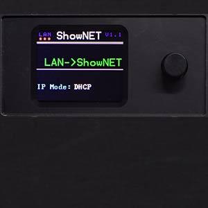Laser Mainboard (ShowNET) Display Steuerung