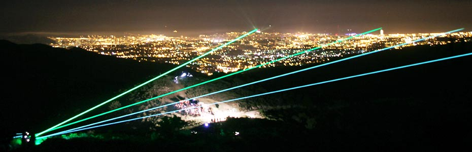 Extremely high powered show laser lights - up to 600W power