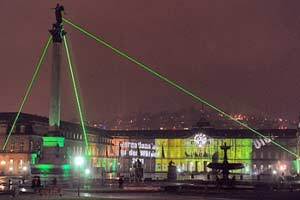 Art Illumination Laser Pyramid
