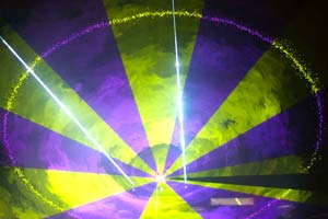 19 Lasershow At Prolight 2013