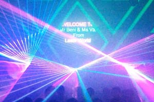 05 Laser Installation At New Club Vietnam