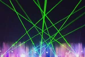Chinese Outdoor Laser Show